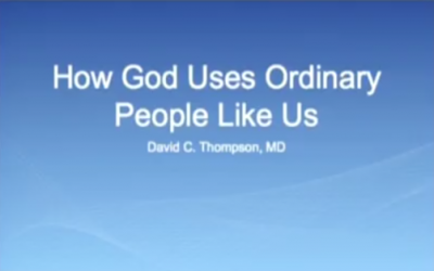 [KAMHC 2014] How God uses ordinary people like us – Dr. David Thompson